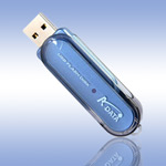 USB ����-���� - A-Data PD10 Blue Ready Boost - 1Gb
