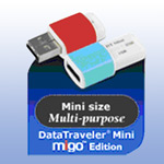 USB ����-���� - DataTraveler Mini - Migo Edition - 1Gb